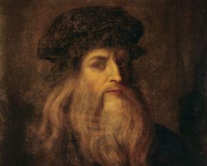 Portrait Leonard de Vinci