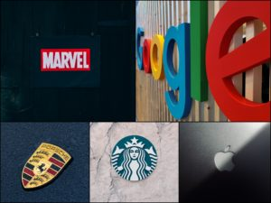 Montage logos marques